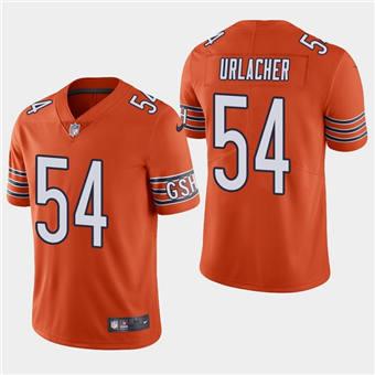 Men's Chicago Bears #54 Brian Urlacher Orange Vapor untouchable Limited Stitched Football Jersey