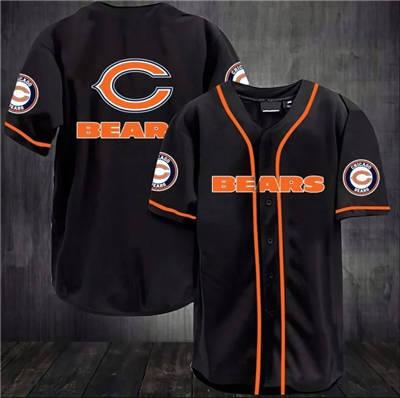 Men's Chicago Bears Baseball Jersey