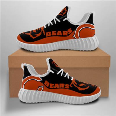 Men's Chicago Bears Mesh Knit Sneakers 10