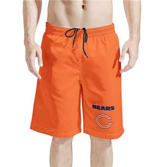 Men's Chicago Bears Orange Football Shorts