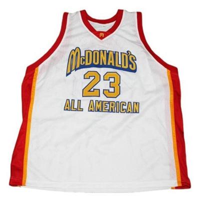 Men's Chicago Bulls #23 Michael Jordan McDonald's All American Stitched Basketball Jersey
