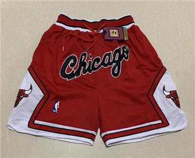 Men's Chicago Bulls Hardwood Classics Stitched Basketball Short 2