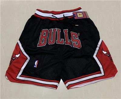 Men's Chicago Bulls Hardwood Classics Stitched Basketball Short 3