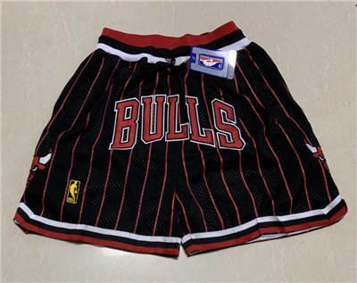 Men's Chicago Bulls Hardwood Classics Stitched Basketball Short 4