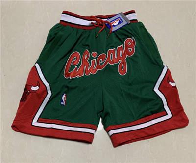 Men's Chicago Bulls Hardwood Classics Stitched Basketball Short 5
