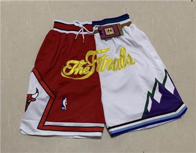 Men's Chicago Bulls Hardwood Classics Stitched Basketball Short 7
