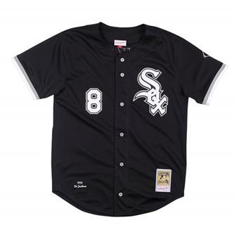 Men's Chicago White Sox #8 Bo Jackson Black Stitched Baseball Jersey