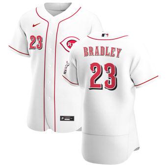 Men's Cincinnati Reds #23 Archie Bradley White Home 2020 Authentic Player Baseball Jersey