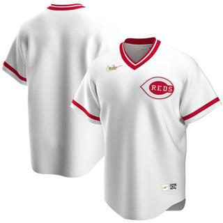 Men's Cincinnati Reds 2020 Home Cooperstown Collection Team Baseball Jersey White