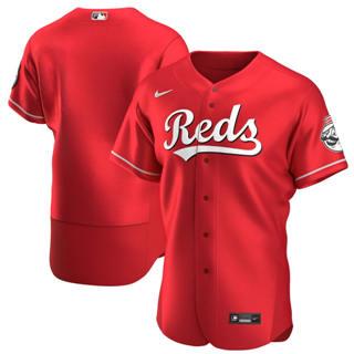Men's Cincinnati Reds 2020 Scarlet Authentic Alternate Team Baseball Jersey