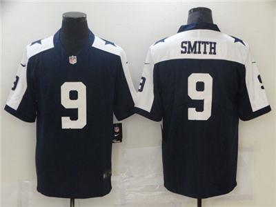 Men's Dallas Cowboys #9 Jaylon Smith Navy Vapor Untouchable Limited Stitched Football Jersey 2
