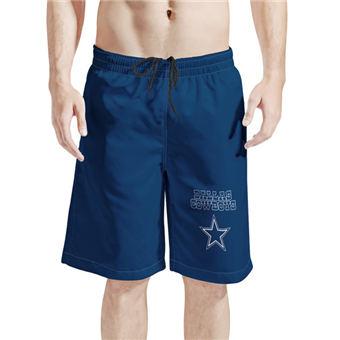 Men's Dallas Cowboys Navy Football Shorts