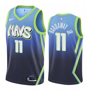 Men's Dallas Mavericks #11 Tim Hardaway Jr. City Edition Stitched Basketball Jersey