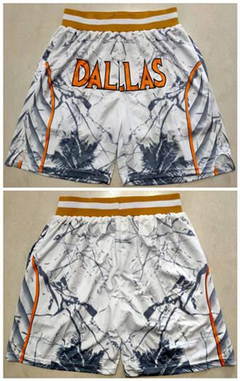 Men's Dallas Mavericks Basketball Shorts (Run Small)