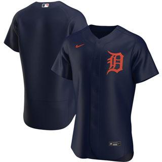 Men's Detroit Tigers 2020 Navy Alternate Authentic Team Baseball Jersey