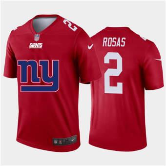 Men's Giants #2 Aldrick Rosas Red Football Team Big Logo Fashion Vapor Limited Jersey