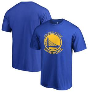 Men's Golden State Warriors Primary Logo T-Shirt - Royal