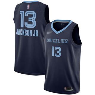 Men's Grizzlies #13 Jaren Jackson Jr. Navy Blue Basketball Swingman Icon Edition Jersey