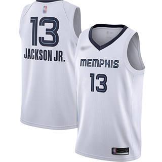 Men's Grizzlies #13 Jaren Jackson Jr. White Basketball Swingman Association Edition Jersey