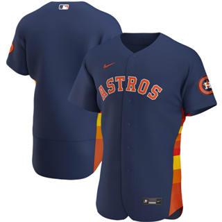 Men's Houston Astros 2020 Navy Alternate Authentic Official Team Baseball Jersey