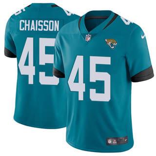 Men's Jaguars #45 K'Lavon Chaisson Teal Green Alternate Stitched Football Vapor Untouchable Limited Jersey