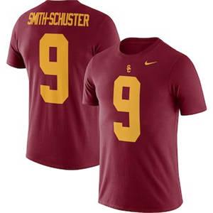 Men's JuJu Smith-Schuster USC Trojans  Name & Number T-Shirt – Cardinal