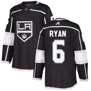 Men's Kings #6 Joakim Ryan Black Home Authentic Stitched Hockey Jersey