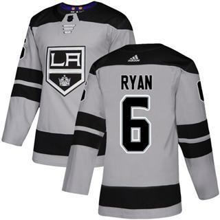 Men's Kings #6 Joakim Ryan Gray Alternate Authentic Stitched Hockey Jersey