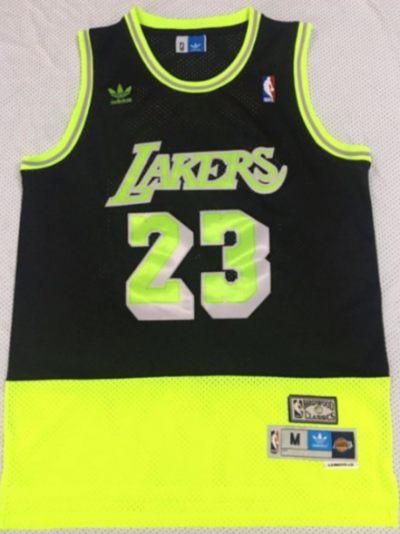 Men's Lakers #24 Kobe Bryant Black Yellow Stitched Hardwood Classics Basketball Jersey