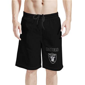 Men's Las Vegas Raiders Black Football Shorts