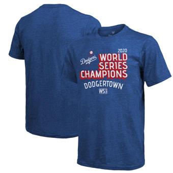 Men's Los Angeles Dodgers 2020 World Series Champions Winner Takes All T-Shirt Royal