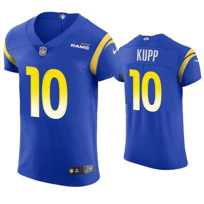 Men's Los Angeles Rams #10 Cooper Kupp 2021 Royal Vapor Elite Jersey