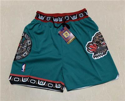 Men's Memphis Grizzlies Hardwood Classics Stitched Basketball Short