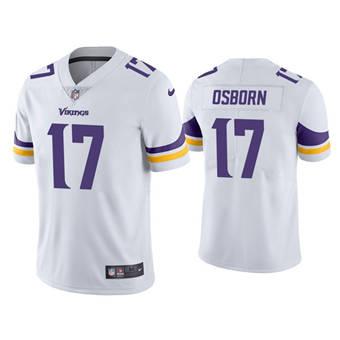 Men's Minnesota Vikings #17 K.J. Osborn White Vapor Untouchable Limited Stitched Jersey