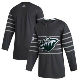 Men's Minnesota Wild Gray 2020 Hockey All-Star Game Authentic Jersey