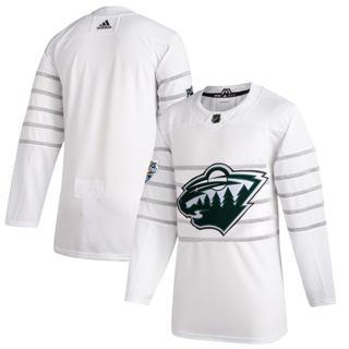 Men's Minnesota Wild White 2020 Hockey All-Star Game Authentic Jersey