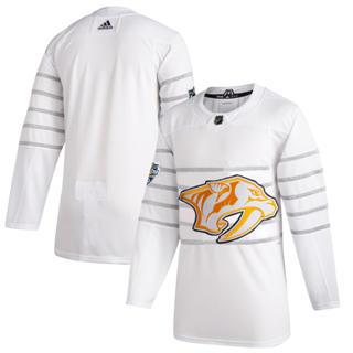 Men's Nashville Predators White 2020 Hockey All-Star Game Authentic Jersey