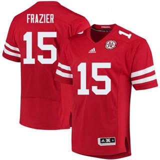 Men's Nebraska Cornhuskers #15 Tommie Frazier Jersey Red NCAA