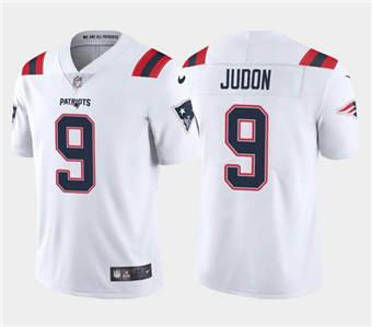 Men's New England Patriots #9 Matt Judon White Vapor Untouchable Limited Stitched Football Jersey