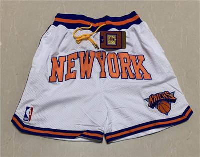 Men's New York Knicks Hardwood Classics Stitched Basketball Short 1