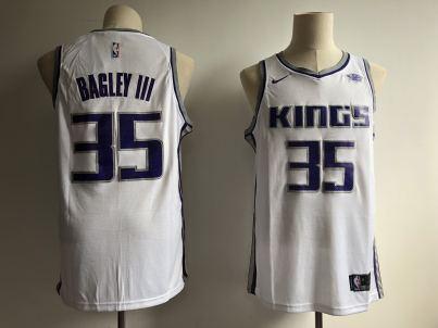 Men's  Sacramento Kings #35 Marvin Bagley III White Basketball Swingman Association Edition Jersey