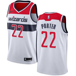 Men's  Washington Wizards #22 Otto Porter White Basketball Swingman Association Edition Jersey