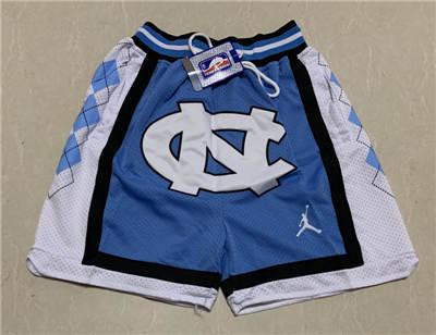 Men's North Carolina Tar Heels Hardwood Classics Stitched Basketball Short