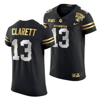 Men's Ohio State Buckeyes Maurice Clarett 2021 Sugar Bowl Jersey Black Gold