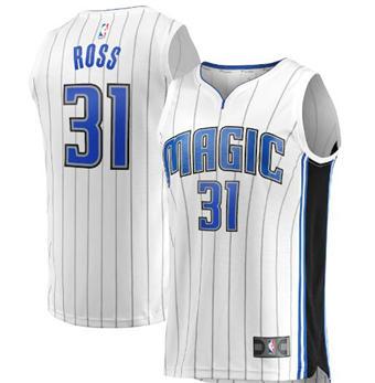 Men's Orlando Magic #31 Terrence Ross White Stitched Swingman Basketball Jersey