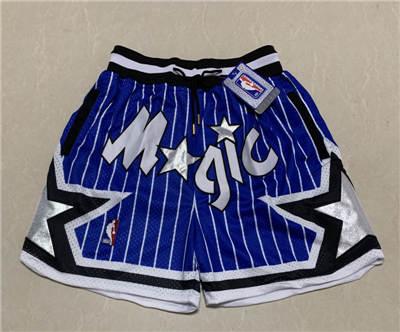 Men's Orlando Magic Hardwood Classics Stitched Basketball Short 2