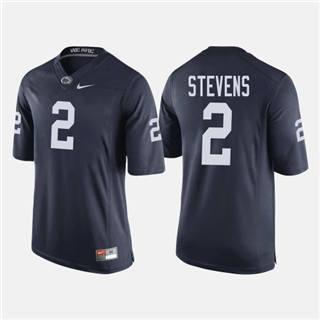 Men's Penn State Nittany Lions #2 Tommy Stevens Navy NCAA Football Jersey