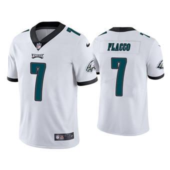 Men's Philadelphia Eagles #7 Joe Flacco White Vapor Untouchable Limited Stitched Football Jersey