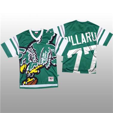 Men's Philadelphia Eagles #77 Andre Dillard Green Mitchell & Nell Big Face Fashion Limited Football Jersey
