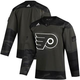 Men's Philadelphia Flyers 2019 Veterans Day Authentic Practice Hockey Jersey Camo
